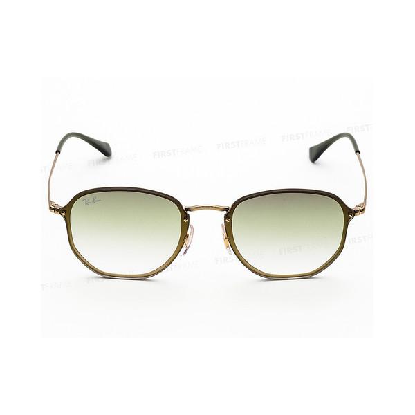 Gafas de sol hombre - dorado/verde