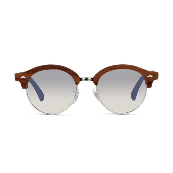 Gafas de sol hombre - azul claro/plateado