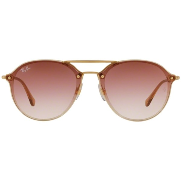 Gafas de sol hombre - marrón claro/rojo