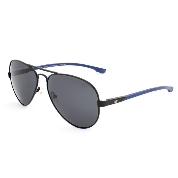 Gafas de sol hombre polarizadas - negro/azul