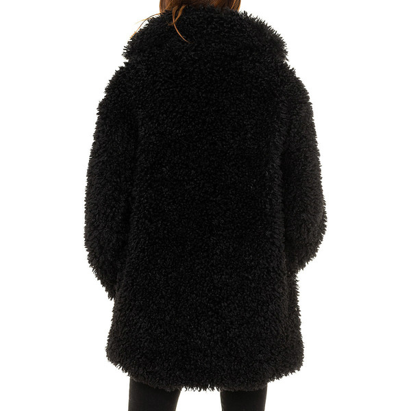 Abrigo mujer - negro