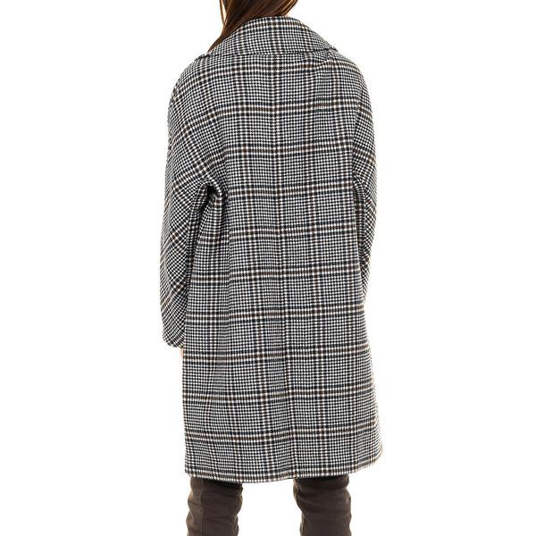 Abrigo largo mujer - gris