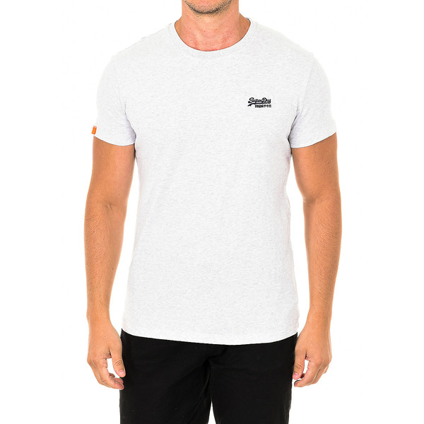 Camiseta m/corta hombre - gris