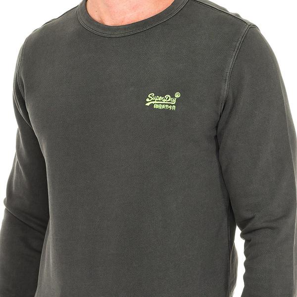 Jersey m/larga hombre - gris oscuro