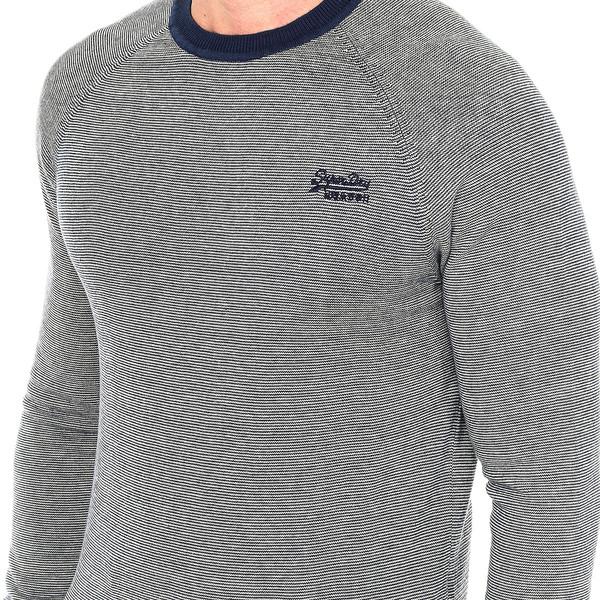 Jersey m/larga hombre - azul marino