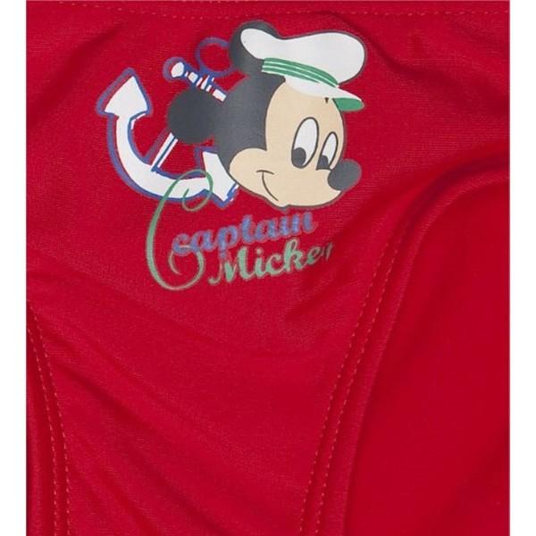 Bañador niño Mickey Bebe - Rojo