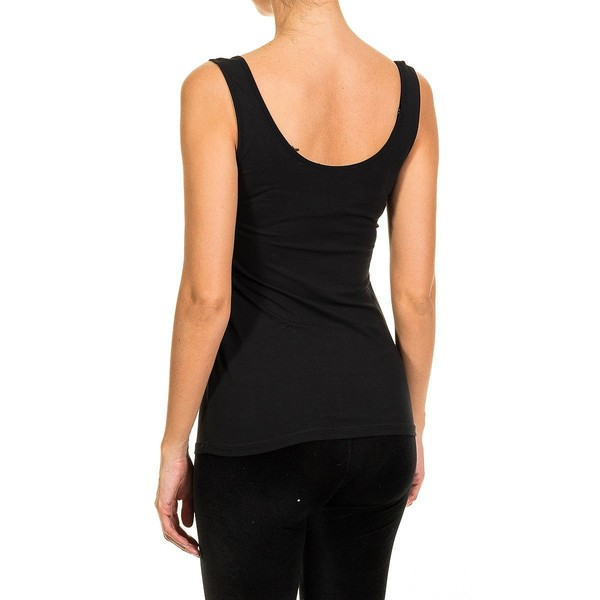 Camiseta tirantes - negro