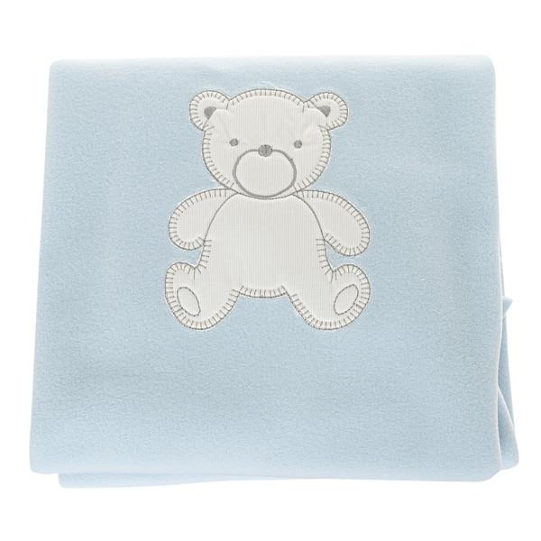 Manta polar Babidu Azul