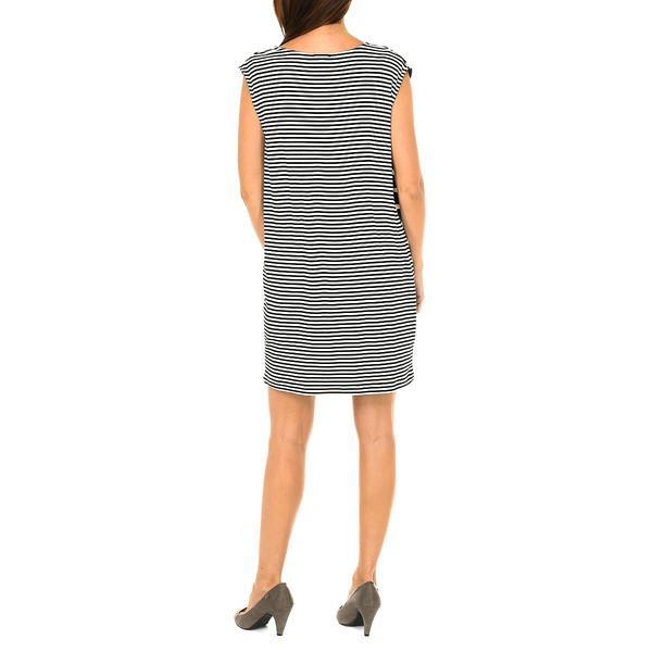 Vestido mujer - negro/blanco