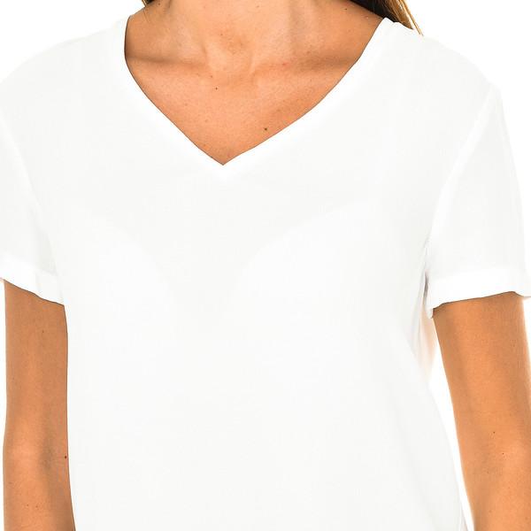 Camiseta m/corta mujer - blanco