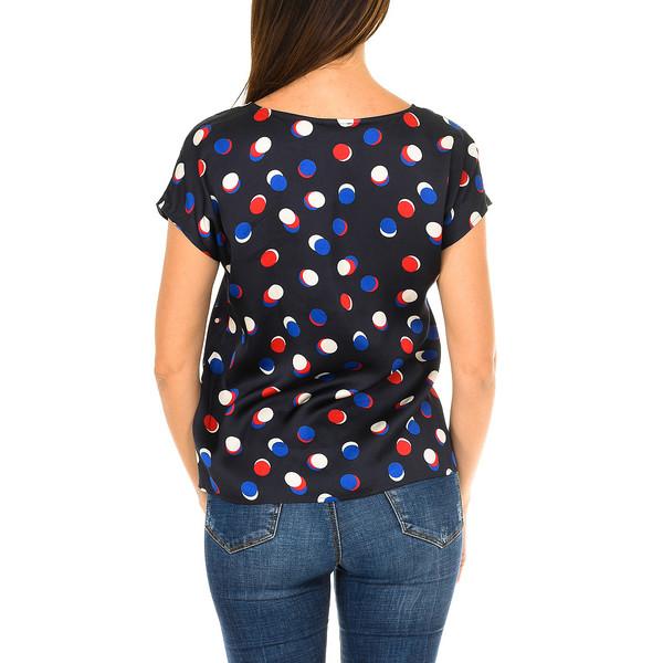 Camiseta m/corta mujer - azul marino