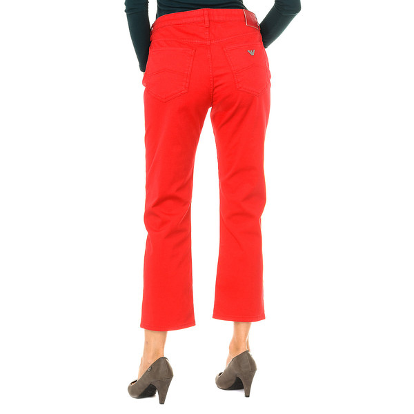 Pantalón mujer - rojo
