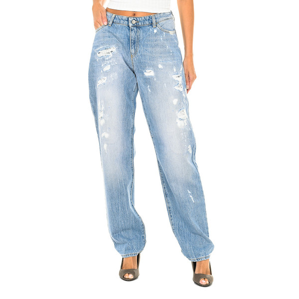 Pantalón mujer - azul denim