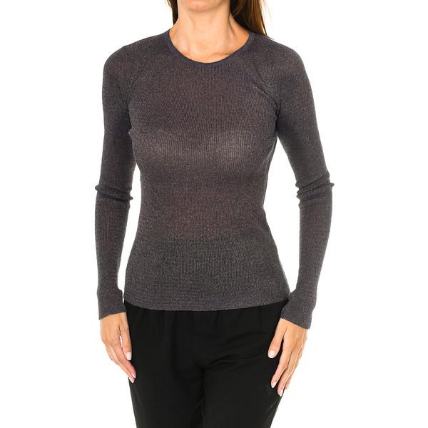 Jersey m/larga mujer - malva