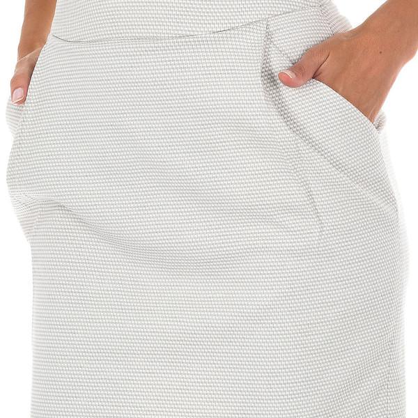 Falda mujer - beige