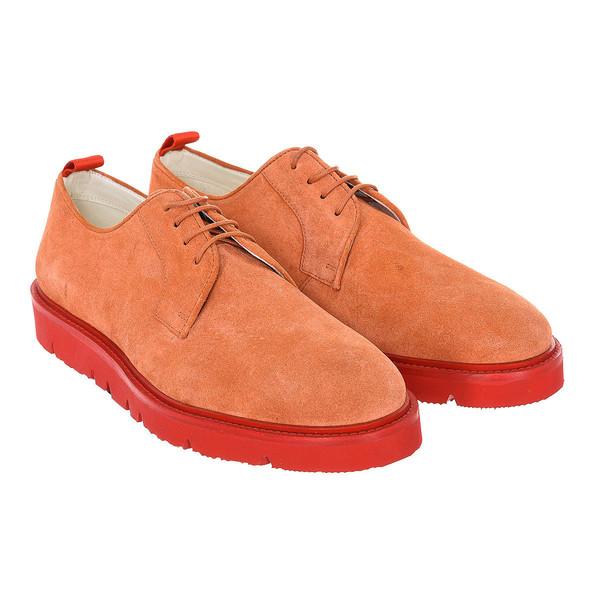 Sneaker hombre piel - coral