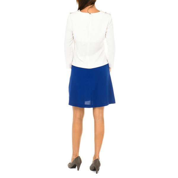 Vestido mujer - plateado