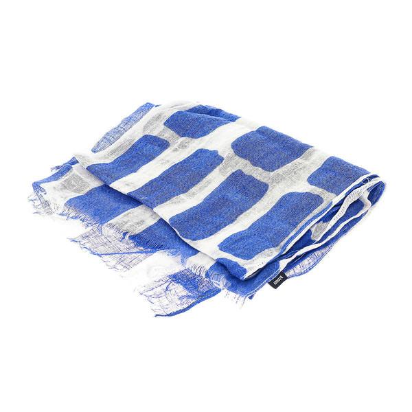 Foulard hombre - azul/blanco