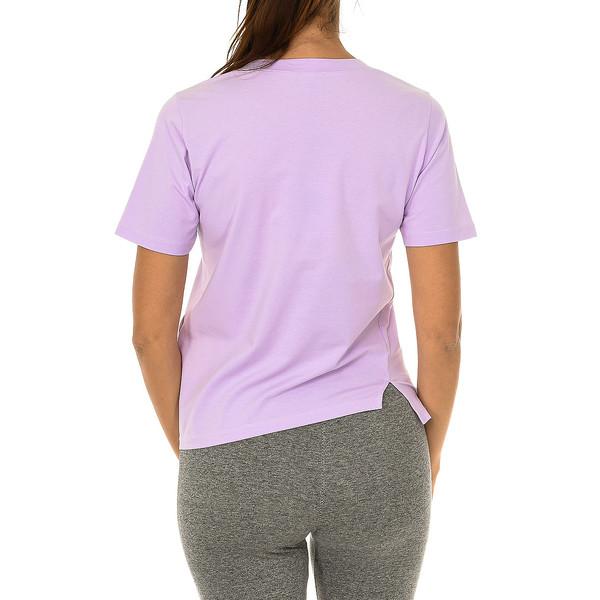 Camiseta m/corta mujer - violeta
