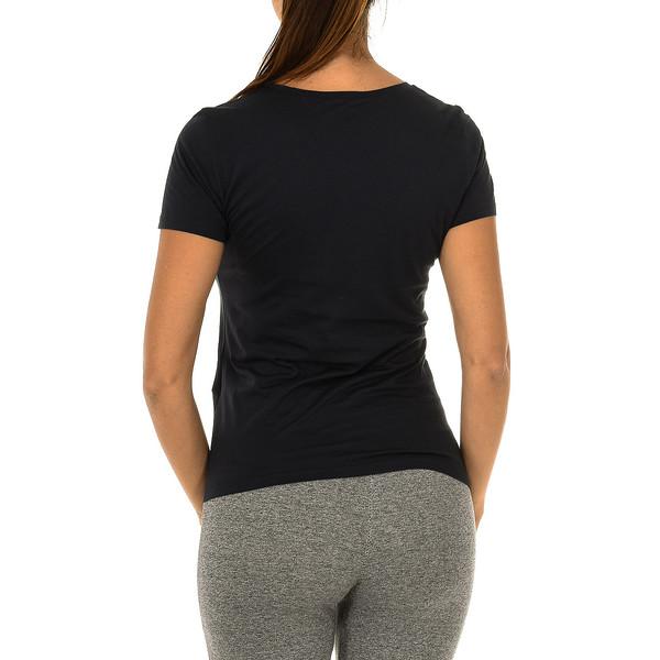 Camiseta m/corta mujer - negro