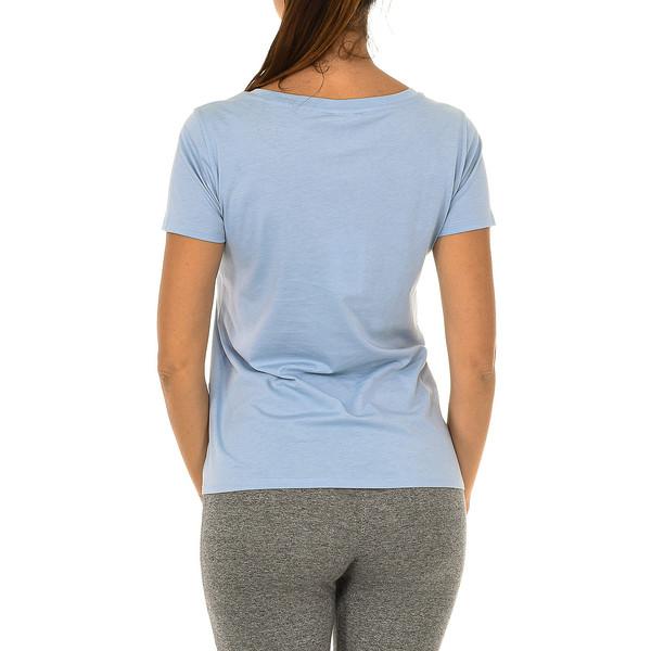 Camiseta m/corta mujer - azul