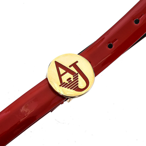 Cinturón de mujer Armani Jeans WOMEN - Rojo