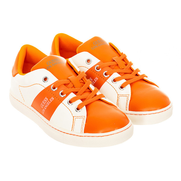 Zapatilla deportivas - blanco/naranja