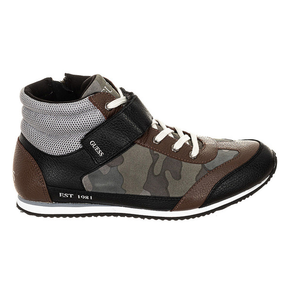 Zapatilla deportivas - negro/marrón