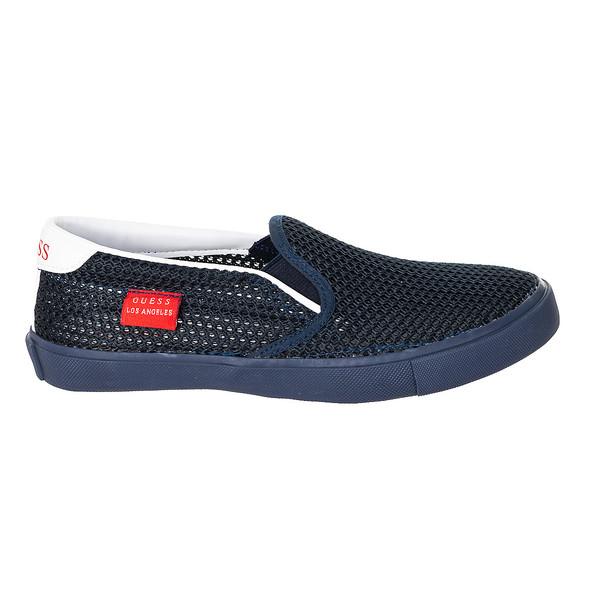 Zapatilla sin cordones - azul marino