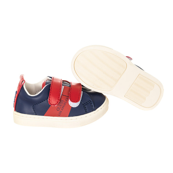 Zapatilla deportivas - rojo/azul