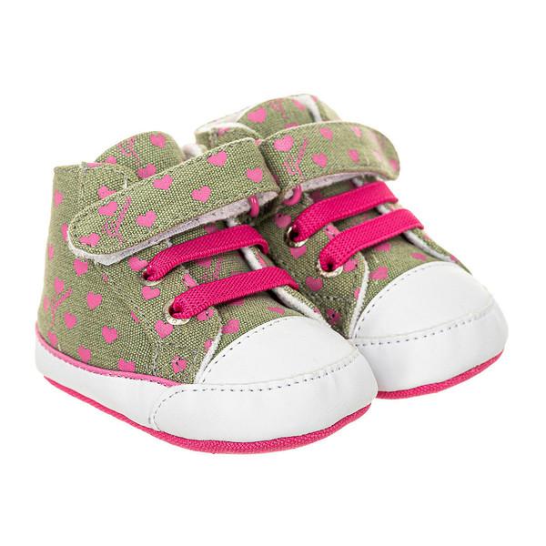 Zapatilla deportivas - verde/rosa