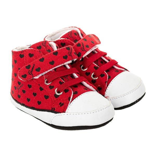 Zapatilla deportivas - rojo/negro