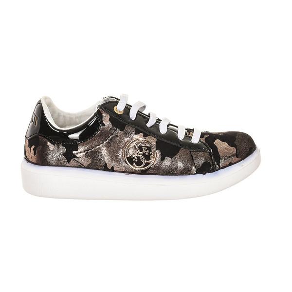 Sneaker infantil - negro animal print