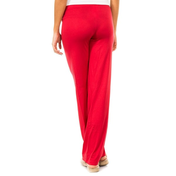 Pantalón largo mujer - rojo