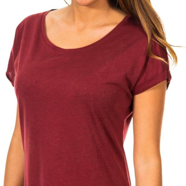 Camiseta m/corta mujer - granate