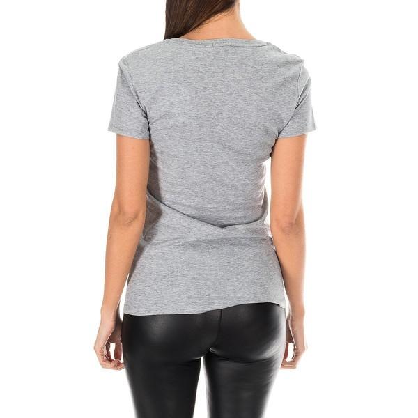Camiseta m/corta mujer - gris