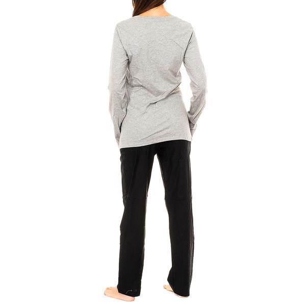Pijama m/larga mujer - multicolor
