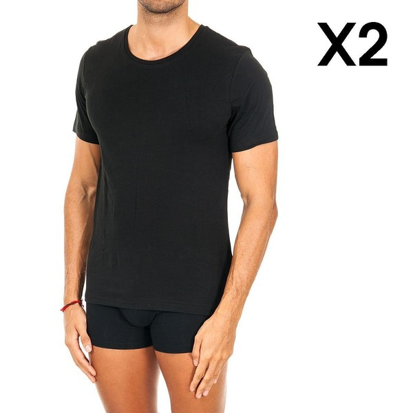 Pack 2 Camiseta hombre - negro