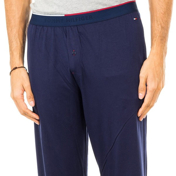 Pantalón largo de pijama hombre - marino