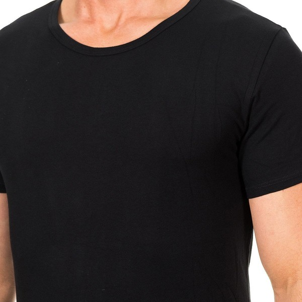 Pack 3 Camiseta hombre - negro