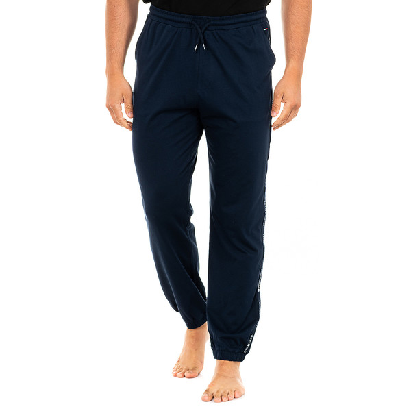 Pantalón largo de pijama hombre - azul