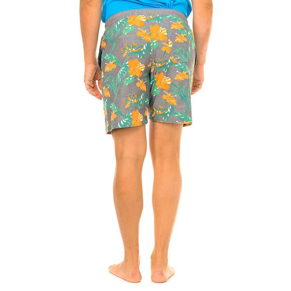 Pantalón corto de pijama hombre - multicolor