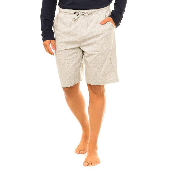 Pantalón corto de pijama hombre - gris