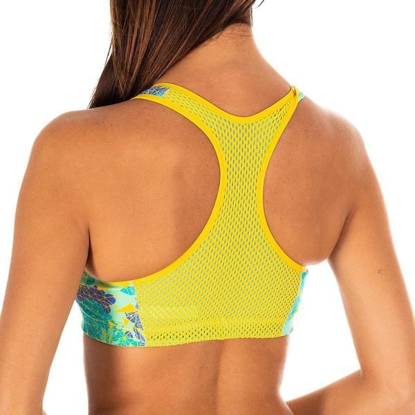 Sujetador mujer - amarillo/verde