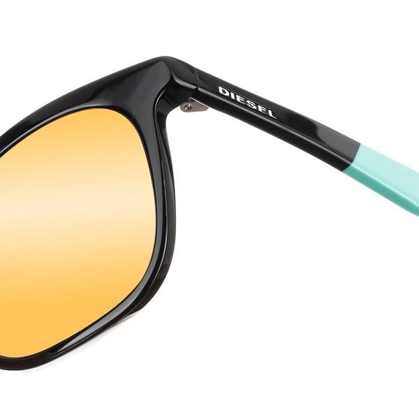 Gafas de sol unisex - negro/verde