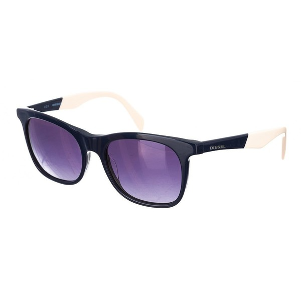 Gafas de sol unisex - marino/beige