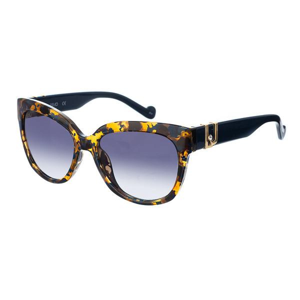 Gafas de sol mujer - amarillo/azul