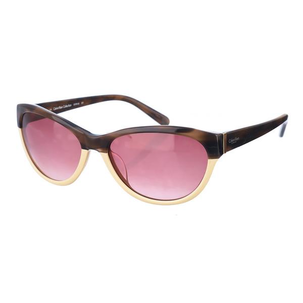 Gafas de sol mujer - marrón/beige