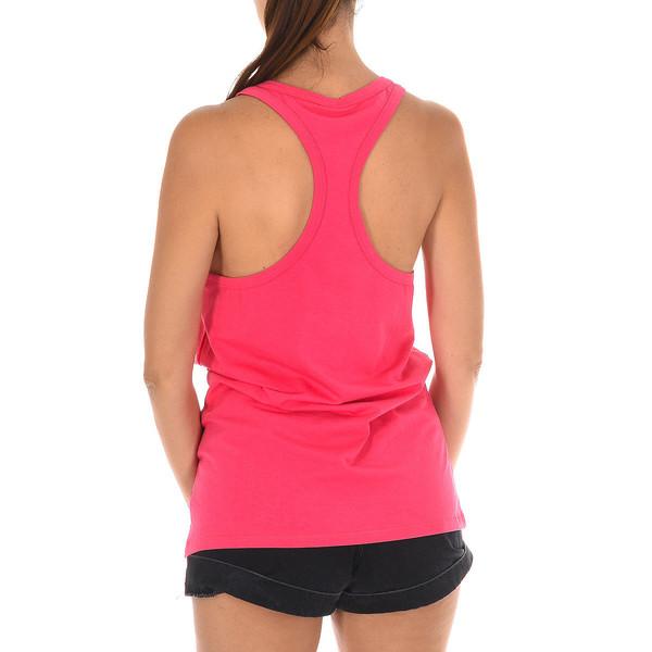 Camiseta de tirantes mujer - rosa