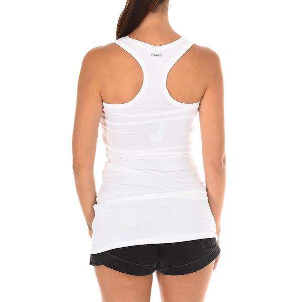 Camiseta de tirantes mujer - blanco